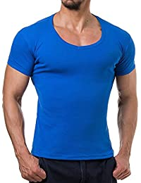 Young and Rich - Tee shirt homme fashion Tee shirt 874 bleu roi - Bleu