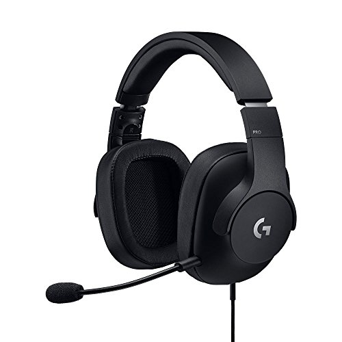 Logitech g pro cuffia gaming, leggera con driver pro-g (per pc, ps4, switch, xbox one, vr)