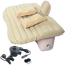 FreeTec – Auto Aire Colchón Móviles Aire Cama Asiento Trasero sofá con Baffle para Viajes Camping