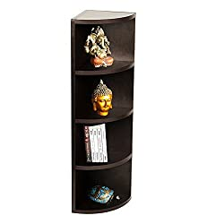 A10 Shop Alpha Corner Wall Shelf / Display Rack/ Storage Unit with 5 Shelves, 32
