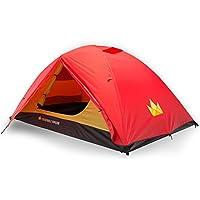 The Friendly Swede Leichtes Zelt 2 Personen • PU 3000mm Zelt Wasserdicht • Campingzelt, Tent, Trekkingzelt, Backpacking Kuppelzelt • 3 Jahreszeiten