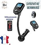 KWIM'S France  Transmetteur FM Bluetooth Haute Gamme Chargeur Voiture Recepteur FM...