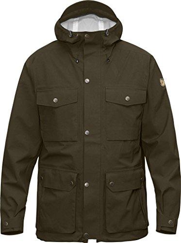 FjallRaven Veste de pluie Ovik Eco-Shell Jacket Dark Olive