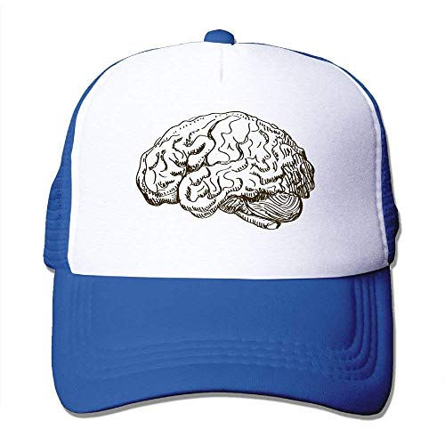 Kostüm Tesla - dfegyfr Gehirn-Illustration-justierbare Sport-Mütze Baseballmütze Trucker Cap Sun Hats Fashion19