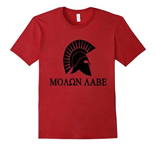 mens-molon-labe-t-shirt-spartan-sparta-king-leonidas-i-war-army-medium-cranberry