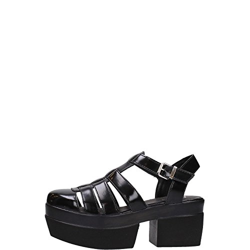 Cult CLE102540 Stringate Donna Ecopelle Nero Nero 35