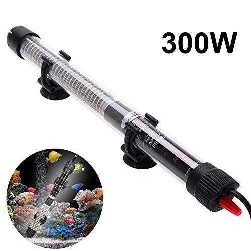 MC.PIG Aquarienheizer Unterwasser-Thermostat-Heizung, Aquarium-Warmwasserbereiter mit Schutzabdeckung und einstellbarer Temperatur (Farbe : 300W)