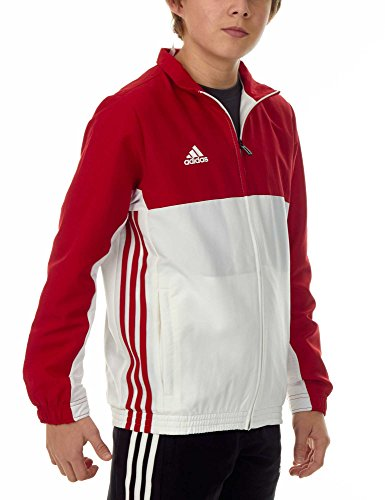 adidas Kinder T16 Team Jacket Junior Trainingsanzüge rot 128