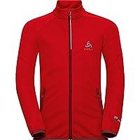 Odlo Niños Jacket Aeolus Element cálida Chaqueta, otoño/Invierno, Infantil, Color Fiery Red - Syrah, tamaño 128