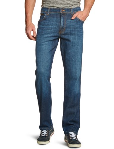 Wrangler - Texas Stretch, Jeans Uomo, blu (night Break), W32/L30 ( W32/L30), Blu (Blau (Night Break 37W), W48/L34 ( W48/L34)