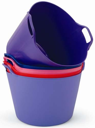 Easi Range Trug 45 litre Purple- ideal for feed or water (Futter- und Tränkeeimer, 45L, Lila)