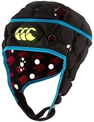 Canterbury Ventilador casco para Adulto, Bleu Atomique Noir