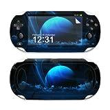 Sony PS Vita Skin - Gehäuse Schutzfolie Design Vinyl Aufkleber Sticker + Wallpaper - Tropical Moon