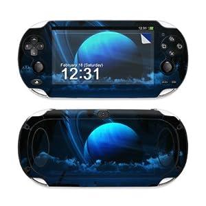 Sony PS Vita Skin – Gehäuse Schutzfolie Design Vinyl Aufkleber Sticker + Wallpaper – Tropical Moon