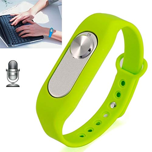 Allshopstock (#117) Tragbare Armband 4GB Digital Voice Recorder Handgelenk Watch, eine Knopf- Lang Time Recording (Grün) (Handgelenk Voice Recorder)