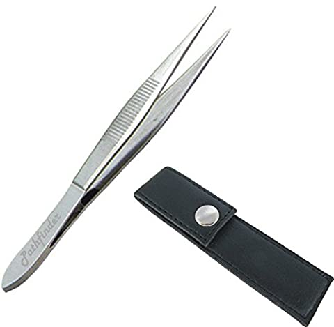 Stainless Steel Pointed Tweezers NEW IMPROVED PIN POINT TIPS