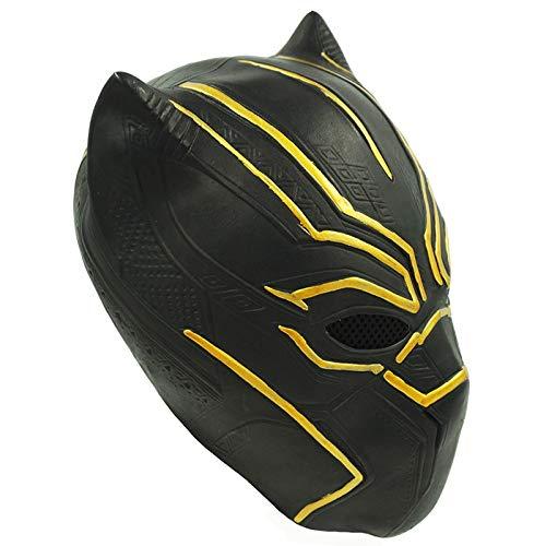 VAWAA Film Black Panther Kralle Handschuhe Avengers Infinity War Maske Kostüm Halloween Party Cosplay Requisiten Für Erwachsene Männer Frauen (Panther Kostüm Frauen)