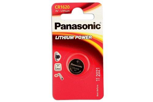 Preisvergleich Produktbild Connect 30660 Knopfbatterien CR1620, 10 Stück