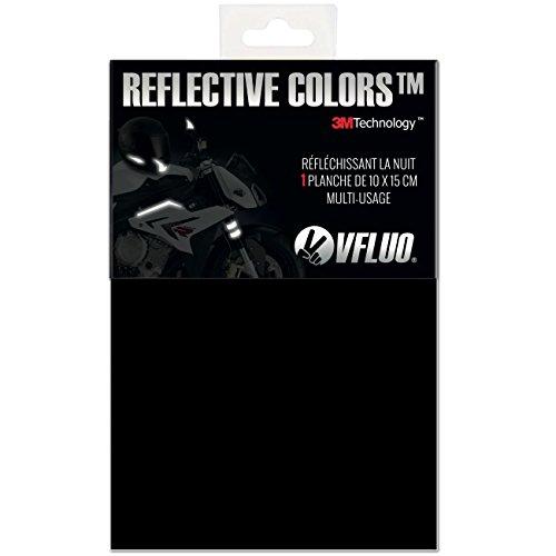 VFLUO 3M Reflective Colors, Feuille rétro réfléchissant à découper pour Casque Moto, Scooter, vélo, Multi-Usage, 3M Technology, 10 x 15 cm, No