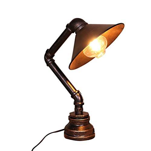 Lámpara de Mesa Vintage, Tubos de Agua de Hierro Industriales ...