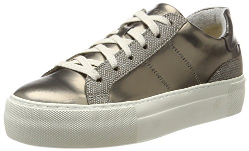 Marc O'Polo Damen 70714193502310 Sneaker, Braun (Brown Combi), 39 EU