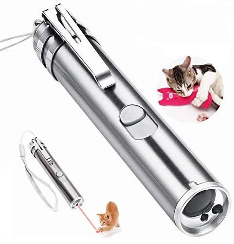 Hongyantech Katzenspielzeug Interaktive Spielzeug für Katzen und Hunde, katzenspielzeug Spielzeug mit USB Kabel für Katze Training Tools mit Mäusen