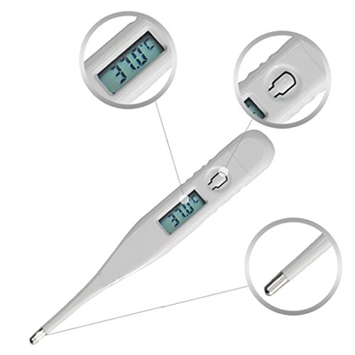 gaddrt Kind Erwachsener Körper Digital LCD Thermometer Temperaturmessung USSP