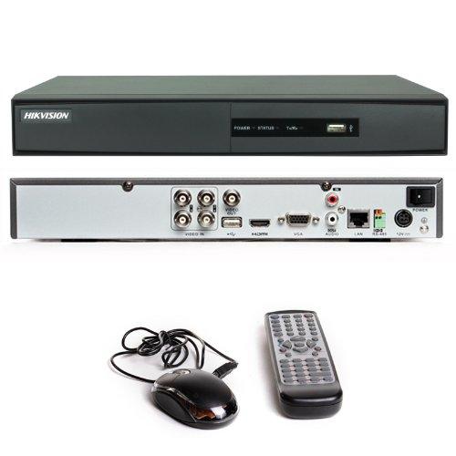 4 Kanal CCTV DVR Hikvision DS-7204HWI-SH 4 ch Internet HDMI Digital Video Recorder mit 500 GB Festplatte -