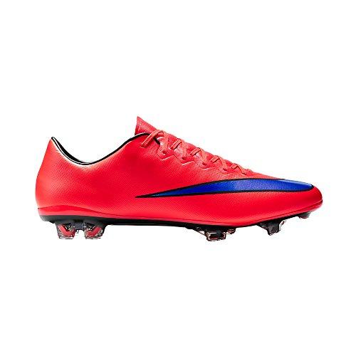 Nike  Mercurial Vapor X FG, Chaussures de Football Compétition homme bright crimson/persian violet/black