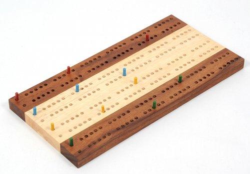 Preisvergleich Produktbild Cribbage - Zählbrett für bis zu 4 Spieler