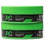 ZEC+ Lifestyle Haarwax matt 2 Stk, Zec Plus mattes Haarwachs für perfektes Haar-Styling, geschmeidige Stylingcreme für den optimalen Halt, nicht fettend und frei von Tierversuchen, 2 x 150 ml