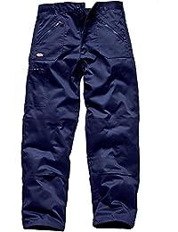 Dickies Redhawk Action WD814, Pantalones de trabajo, Azul Marino, 36RSRT