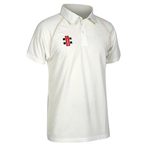 Gray-Nicolls Childrens/Kids Matrix Short Sleeve Cricket Shirt