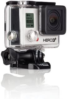 GoPro HERO 3+ Black Edition - Videocámara de 12 Mp (vídeo Full HD, estab. imagen, WiFi), negro