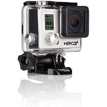 GoPro HERO 3+ Black Edition - Videocámara de 12 Mp (vídeo Full HD, estab. imagen, WiFi), negro