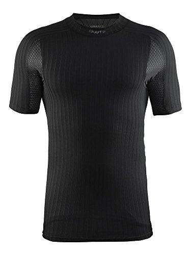 Craft Herren Unterwäsche Active Extreme 2.0 CN SS M Unterhemd, black, L