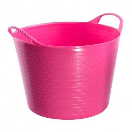 Red Gorilla flexible Tubtrug-Wanne (Medium) (Rosa)