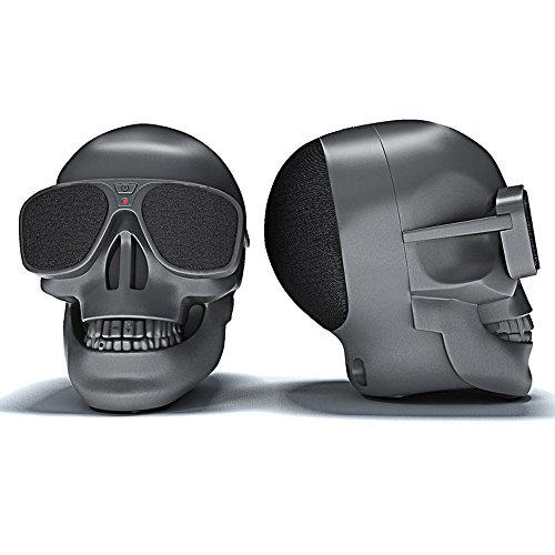 OPAKY Plastikschädel-metallischer drahtloser Form-Bluetooth-Sprecher-Subwoofer-beweglicher Sprecher für iPhone, Samsung usw.