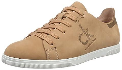 Calvin Klein Jeans Sailor Nubuck, Sneakers basses femme - Marron (DSK), 41 EU