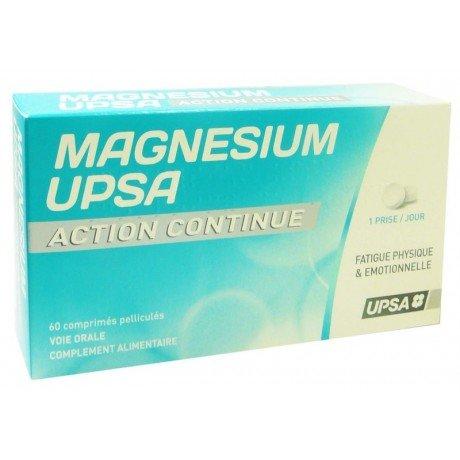 UPSA Magnésium UPSA Action Continue 60 Comprimés
