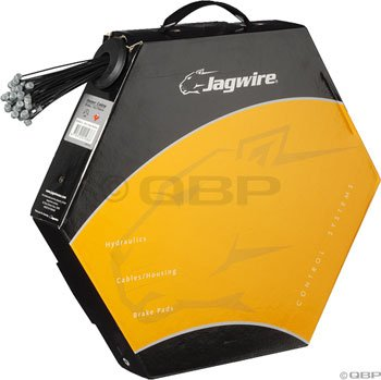 Jagwire Mountain Brake Cable Teflon Slick Stainless SRAM/Shimano Câbles de frein 50 pièces 1,5 x 1700 mm