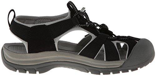 Keen Venice H2 W, Sandales Plateforme Femme Noir (Black / Neutral Grey)