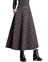 2ed7d334a3c30 Suchergebnis auf Amazon.de für: Faltenrock lang - Wolle / Röcke ...