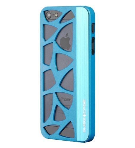 Glacier Case for iPhone 5/5S gun metal Teal
