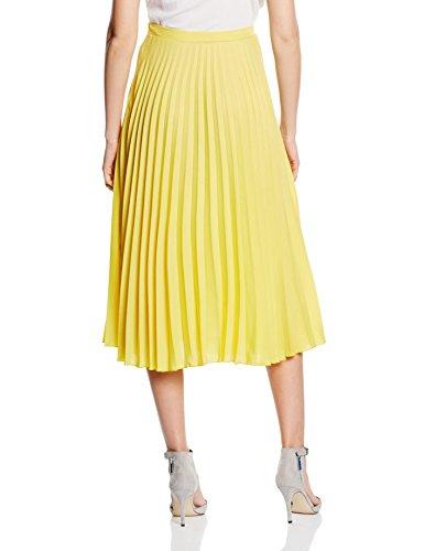 HotSquash Damen Rock Sunray Pleat Gelb (Yellow)