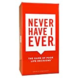 INI, LLC Never Have I Ever: The Game of Poor Life Decisions juego de cartas