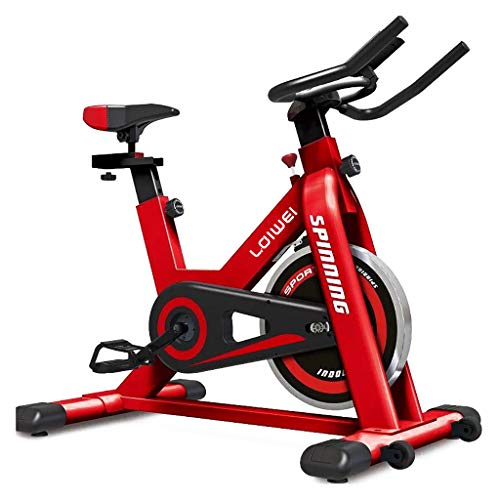 Bicicletta da Spinning, Cyclette Indoor, Bicicletta stazionaria Display LCD Bicicletta da Allenamento per cardiofrequenzimetro per Interni/Giardino/Allenamento Cardio