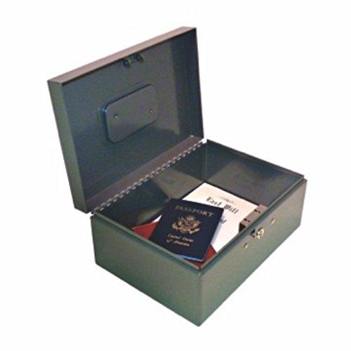 Steelmaster Heavy Duty Locking Sicherheit Box, 26x 11,3x 18,7cm, inkl. 2Schlüssel, Gray (221F92gra) (Heavy-duty-master Lock)