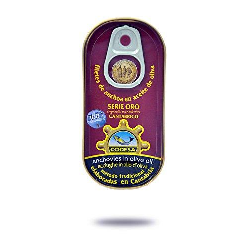 Filetti di Acciughe Mar Cantabrico Serie Oro CODESA 48 g - CODESA ANCHOAS SERIE ORO 50 g