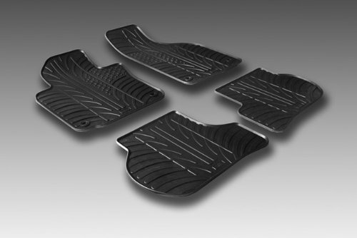 Preisvergleich Produktbild Rubber denn Mats Set Gummimatte Citroen C5mehr Clips-Montage T Profil, 4-teilig